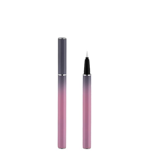 YD-032 Octagon aluminium straight liquid eyeliner pen